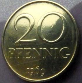 20 pfennig 1969 цена как печатать микротекст